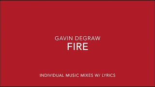Fire - Gavin DeGraw (Individual Music Mix)