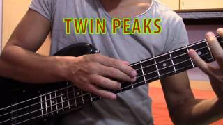 Twin Peaks bass cover