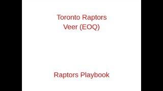 Toronto Raptors Veer (EOQ)