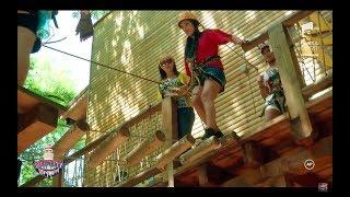"""Vica și Andreea, la mare înălțime. Frica a fost mai mare decât distracția: """"M-am udat, fă!"""""""