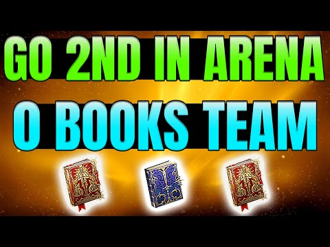 No Skill Books Needed AND Go Second in the Arena I Raid Shadow Legends