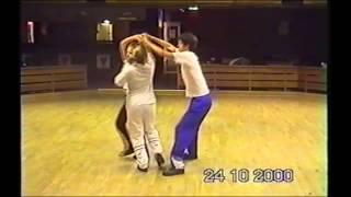 Dubbelbuggsträning 2000 Laxbuggarna Tobias Emelie Caroline