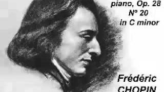 Chopin - Prelude Op 28 Nº 20 in C minor