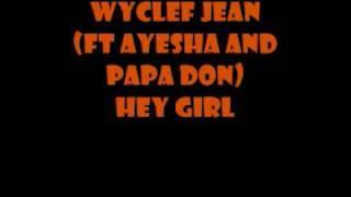 wyclef jean - hey girl