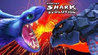 Hungry Shark Evolution - Pyro vs Enemy Alan Destroyer Of Worlds