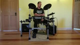 """Talking Heads - """"Life During Wartime"""" Drum Cover By Ken Turner"""