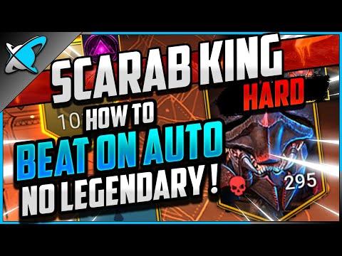 """AUTO & NO LEGO"" Borgoth The Scarab King | HARD Doom Tower Floor 100 | RAID: Shadow Legends"