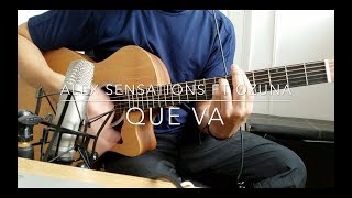 Alex Sensations Ft Ozuna - Que Va (Guitarra Cover, Acordes + Intro)