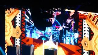 Santana's Wife Crazy Drum Solo Live 5/31/14