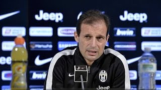 La conferenza di Allegri prima di Juventus-Inter - Allegri's pre-match Inter conference