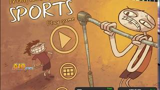 TROLLFACE QUEST SPORTS GAME - Y8 GAME(Funny_Game)