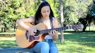(Ariana Grande) One Lat Time - Fingerstyle Guitar Cover - Rayssa Lacerda