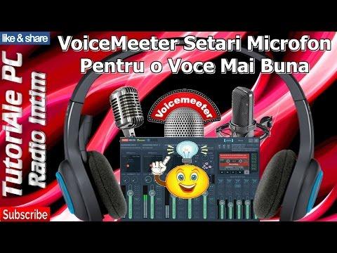 VoiceMeeter Setari Microfon Pentru o Voce Mai Buna