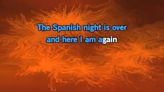 Engelbert Humperdinck The Spanish Night Is Over Karaoke