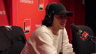 Orelsan chante un titre inédit au micro d'Augustin Trapenard
