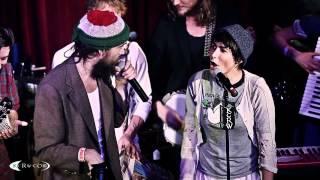 "Edward Sharpe performing ""I Don't Wanna Pray"" Live at KCRW's Apogee Sessions"