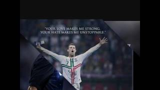 CR7 quotes(drag me down)