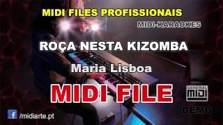♬ Midi file  - ROÇA NESTA KIZOMBA - Maria Lisboa