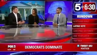 Steven Cruz on Fox 5 explains the VA Gubernatorial