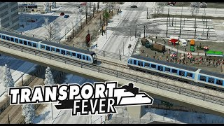 Unterwegs mit der Hochbahn   Transport Fever Schönbau   S04 #90
