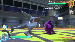 Garchomp Simple High Damage Combos