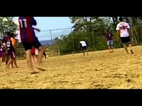 Treino de Beach Soccer, equipe Academia Sport Center de Igrejinha-RS.