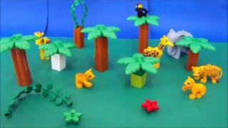 Animação LEGO - O Leãozinho e o Mar - GR4A