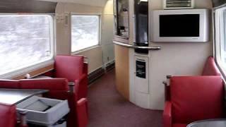 Via Rail - The Ocean -  Explore Train Inside