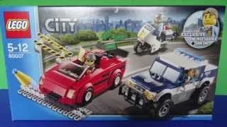 LEGO City High Speed Chase Police Set 60007 - Speed Build & Review