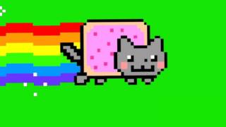 Nyan Cat Green Screen