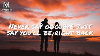 Jhony M ft. Misha Cordon - Never Say Goodbye (Lyrics)