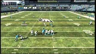 Madden 12 Online Ranked Game: Panther Pop Off/To My Subs_with Live Commentary