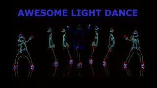 Light dance video on  America's got talent 2017 full audition-AMAZING performance by Light Balance