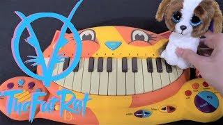 The Fat Rat - Unity (Cat Piano, Dog, Calculator Cover)