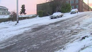 Winter weather moves into Puget Sound