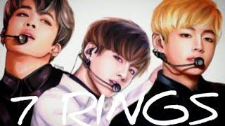BTS   7 Rings   FMV  Jungkook, Jimin, V