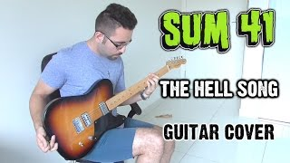 Sum 41 - The Hell Song (Guitar Cover, with Solo)