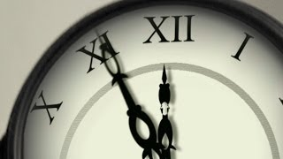 The Clock countdown 12 hours Timer - ticking clock with sound fx effects ( v 70 ) 100 sec 4k 2014