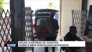 Juguetes ya están rumbo a Venezuela