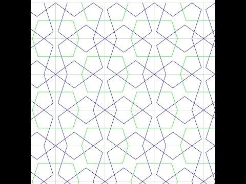 伊斯蘭的幾何拼貼 09A