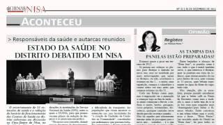 Jornal de Nisa de 30 de Dezembro de 2011
