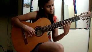 Wanessinha tocando música clássica.MPG