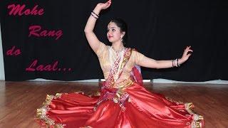MOHE RANG DO LAAL || KATHAK Dance Video || SUKRUTI AIRI width=
