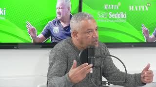 """Saïd Seddiki: """"Nous en sommes à 20 points, mais je pense qu'on méritait mieux"""""""