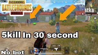10kill in 30second  (pubg mobile world)