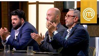 I giudici applaudono il piatto di Michele | MasterChef All Stars Italia