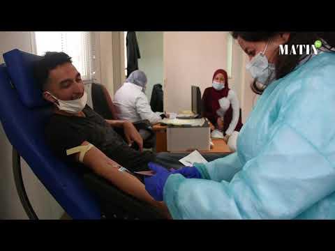 Video : Casablanca : une campagne de sensibilisation et de collecte de sang