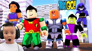 TEEN TITANS Battlegrounds Roblox Fun Game CKN Gaming