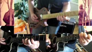 Last of the Mohicans theme  cover (acoustic + electric guitar arrangement)