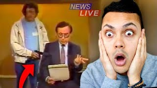 SHOCKING MOMENTS CAUGHT ON LIVE TV